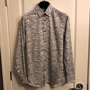 Ted Baker LAMBIE floral shirt XS